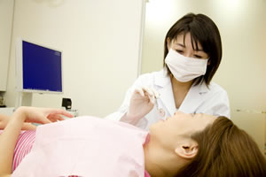 歯のクリーニング(PMTC)